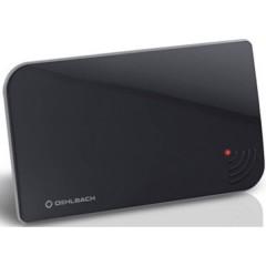 Oehlbach Scope Vision Antenna attiva piatta DVB-T/T2 Ambiente interno Nero