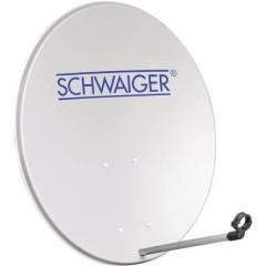Schwaiger SPI2080 Antenna SAT 80 cm Materiale riflettente: Alluminio Alluminio grigio