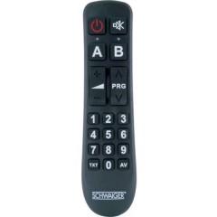Schwaiger UFB1100 533 universelle Telecomando Nero