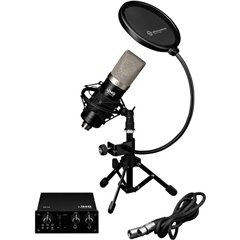 IMG StageLine PODCASTER-1 Microfono per cantanti