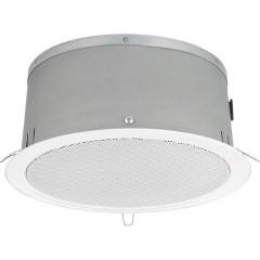Monacor EDL-250C/WS Altoparlante da incasso PA 12 W 100 V Bianco 1 pz.