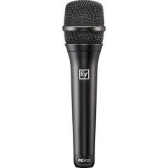 Electro Voice RE420 Microfono per cantanti Tipo di trasmissione:Cablato incl. borsello, incl. morsetto