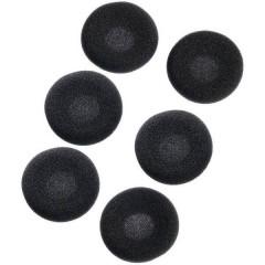 Cuscinetto per cuffia Auricolare In Ear 6 pz. EARA120 45 mm Nero