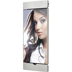 Air s20 s Supporto da parete per iPad Argento Adatto per modelli Apple: iPad 9.7 (marzo 2017), iPad 9.7
