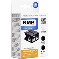 Cartuccia dinchiostro Compatibile sostituisce Brother LC-1280, LC1280XLBKBP2DR, LC-1280XLBK Conf 2 pz Nero