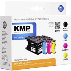 Cartucce combo pack Compatibile sostituisce Brother LC-1280, LC1280XLVALBPDR, LC-1280XL Imballo multiplo Nero,
