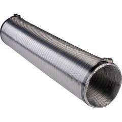 N51839 Tubo di ventilazione flessibile Alluminio (Ø x L) 15 cm x 2.5 m Argento