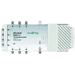 SPU 56-05 SAT multiswitch Ingressi (Multiswitch): 5 (4 satellitare / 1 terrestre) Numero utenti: 6 compatibile