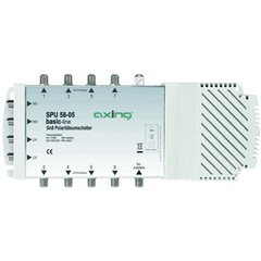 SPU 58-05 SAT multiswitch Ingressi (Multiswitch): 5 (4 satellitare / 1 terrestre) Numero utenti: 8 compatibile