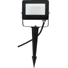 Faretto LED da giardino LED (monocolore) 10 W RGBW Nero