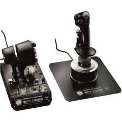 Hotas Warthog Joystick per simulatore di volo USB PC Nero