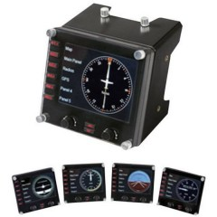 Saitek Pro Flight Instrument Panel PZ46 Controllore per simulatore di volo USB PC Nero
