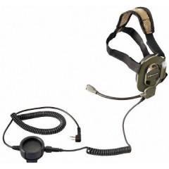 Cuffia Bow M-Tactical Hörsprechgarnitur
