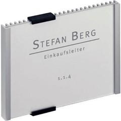 Insegna della porta INFO SIGN - 4801 (L x A) 149 mm x 105.5 mm Metallico, Argento