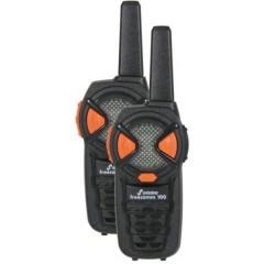 stabo freecomm 100 PMR Funkhandy, 3-5 km Radio PMR portatile Kit da 2