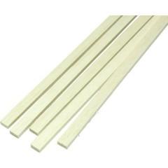 Listello di balsa (L x L x A) 1000 x 4.0 x 4.0 mm 10 pz.