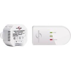 Controllo gas scarico senza fili 1000 W Bianco, Marrone