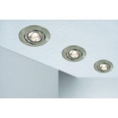 Quality Line Anello di montaggio Lampadina Alogena GU5.3 50 W Ferro