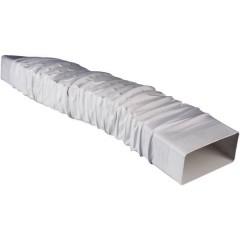 Sistema di ventilazione canale piatto 150 Adattatore tubo quadrato flessibile