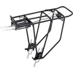 Portapacchi per bicicletta Nero