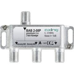 Derivatore TV via cavo 2 vie 5 - 1218 MHz