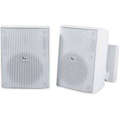 EVID-S5.2W Altoparlante da parete 8 Ω Bianco 1 Paio/a
