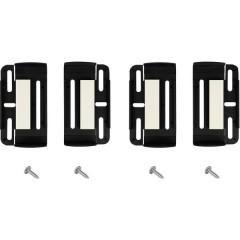 Porta targa (L x L x A) 2 x 16 x 27 cm