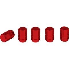 Cappuccio per valvola Kit da 5 Rosso