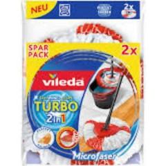 Turbo Easy Wring & Clean testa di ricambio confezione da 2 pz.