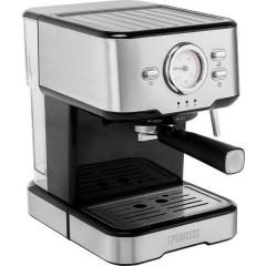 acciaio inox, Nero Macchina per caffè con capsule Con ugello schiumalatte, con sistema di