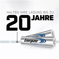 Ultimate FR03 Batteria Ministilo (AAA) Litio 1250 mAh 1.5 V 10 pz.