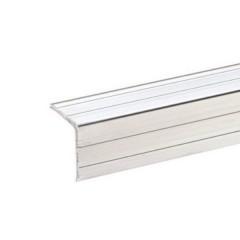 Protezione dei bordi (L x L x A) 1 m x 20 mm x 20 mm Alluminio 1 pz.