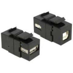 Modulo USB da incasso Keystone