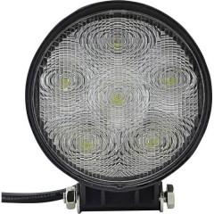 Faro da lavoro 12 V, 24 V 18 Watt Ampio fascio di illuminazione (L x A x P) 110 x 116 x 41 mm 950 lm 6000
