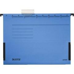 Custodia sospesa Alpha DIN A4 Blu 5 Pz/confezione 5 pz.