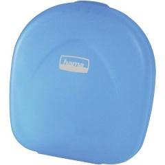 Custodia per CD 24 CD/DVD/Blu-ray Plastica, Polipropilene Blu, Trasparente 1 pz. (L x A x P) 145 x 155 x 38 mm