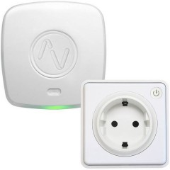Starter kit energia Bianco Apple HomeKit, Alexa, Google Home, IFTTT