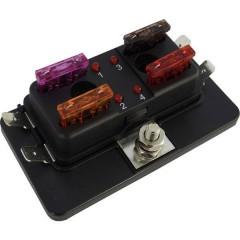 Distributore Fusibile a lama standard Poli 4 30 A 1 pz.