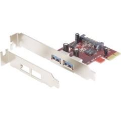 2 Porte Scheda controller USB 3.0 USB-A PCIe