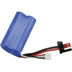 Batteria ricaricabile Adatto per: Blue Barracuda, ACME zoopa Thunder 100 1 pz.