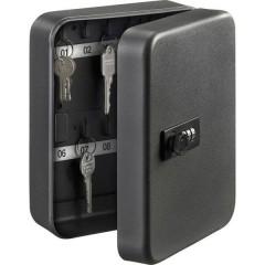 Cassetta porta chiavi KC 20 C Numero di ganci 20 Nero opaco