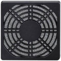Griglia con filtro per ventola da PC 80 x 80 mm