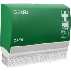 QUICKFIX® ALU Dispenser cerotti (L x A x P) 232 x 133 x 33 mm con suppporto a parete