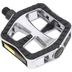 Komfort-Pedale XL Pedale per bicicletta Argento, Nero