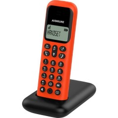 D285 Ricevitore supplementare DECT Rosso