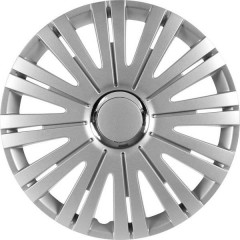 Copri ruota R14 Argento, Cromo 1 pz.