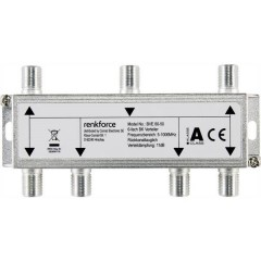 Distributore TV via cavo 6 vie 5 - 1006 MHz
