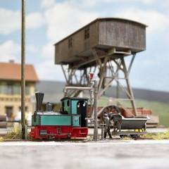 Locomotiva scartamento ridotto H0f Decauville tipo 3 Museumslok