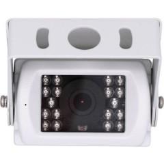 RVC 3.0 Telecamera posteriore con cavo Ulteriore luce IR, microfono incorporato Bianco