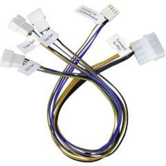 Cavo Ventola PC [3x Spina ventola PC a 3 poli, Spina ventola PC a 4 poli - 1x Presa alimentazione IDE a 4 poli] 30.00 cm